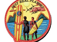 VMM-268 Red Dragons Endless Summer PVC Patch – Hook and Loop