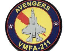 VMFA-211 Wake Island Avengers F-35 PVC Patch – Hook and Loop