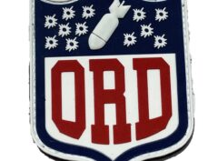 IYAOYAS ORD PVC patch - With Hook and Loop