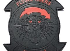 HMH-361 Flying Tigers Blackout PVC patch - Hook and Loop