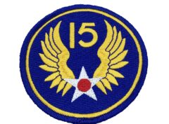 15th Air Force Patch – Hook and Loop