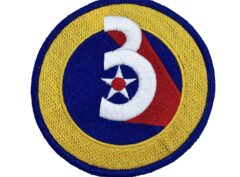 3rd Air Force Patch – Hook and Loop