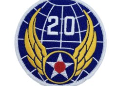 20th Air Force Patch – Hook and Loop