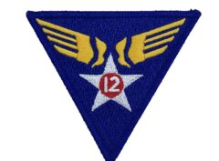 12th Air Force Patch – Hook and Loop