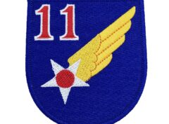 11th Air Force Patch – Hook and Loop