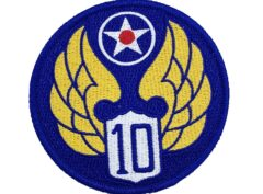 10th Air Force Patch – Hook and Loop