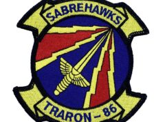 VT-86 Saberhawks Squadron Patch – No Hook and Loop