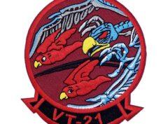 VT-21 Redhawks Bones Patch – Hook and Loop