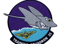 4 inch VT-35 Stingrays Friday Patch - No Hook and Loop