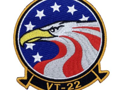 VT-22 Golden Eagles 2019 Full Color Squadron Patch – Hook and Loop