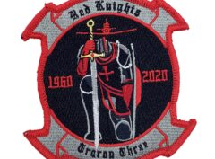 VT-3 Red Knights 60th Anniversary Patch – With Hook and Loop