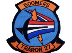VT-27 Boomers Squadron Patch – No Hook and Loop