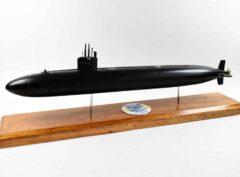 USS Houston (SSN-713) FLT I Black Hull Submarine Model
