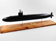USS Albuquerque (SSN-706) FLT I (Black Hull) Submarine Model