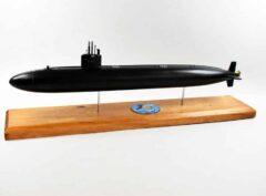 USS Buffalo (SSN-715) FLT I Black Hull Submarine Model