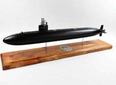 USS City of Corpus Christi SSN-705 Flt I (Black Hull) Submarine Model