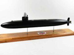 USS Jacksonville SSN-699 FLT I (Black Hull) Submarine Model