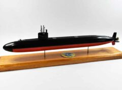 USS Hyman G. Rickover (SSN-709) FLT I Submarine Model