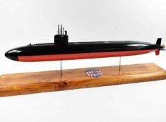 USS Portsmouth (SSN-707) FLT I Submarine Model