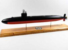 USS Honolulu (SSN-718) FLT I Submarine Model
