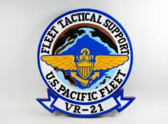 VR-21 Pineapple Airlines Plaque