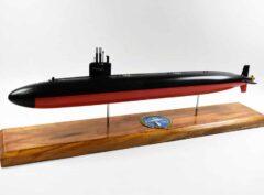 USS Salt Lake City (SSN-716) FLT I Submarine Model