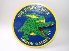 USS Essex Gator LHD-2 Plaque