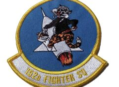 152D FIGHTER SQUADRON Tigers Patch - Sew On