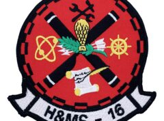 Marine Corps H&MS 16 Patch - No Hook and Loop
