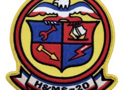 Marine Corps H&MS 20 Patch - No Hook and Loop