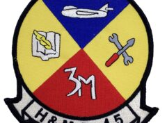 Marine Corps H&MS 15 Patch - No Hook and Loop