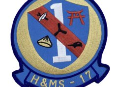 Marine Corps H&MS 17 Patch - No Hook and Loop