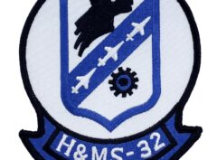 Marine Corps H&MS 32 Patch - No Hook and Loop