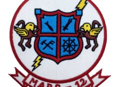 Marine Corps MABS-12 Patch - No Hook and Loop