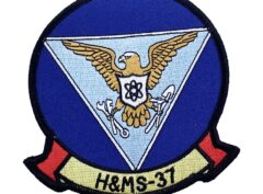 Marine Corps H&MS 37 Patch - No Hook and Loop
