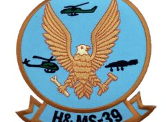 Marine Corps H&MS 39 Patch - No Hook and Loop