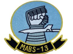 Marine Corps MABS-13 Patch - No Hook and Loop