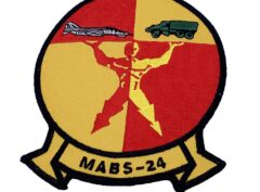 Marine Corps MABS-24 Patch - No Hook and Loop
