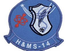 Marine Corps H&MS 14 Patch - No Hook and Loop