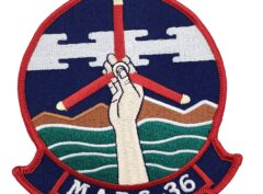 Marine Corps MABS-36 Patch - No Hook and Loop