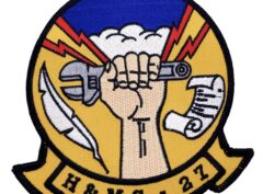 Marine Corps H&MS 27 Patch - No Hook and Loop
