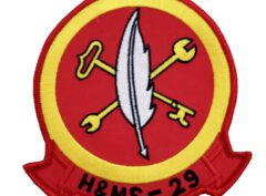Marine Corps H&MS 29 Patch - No Hook and Loop