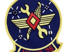 Marine Corps H&MS 26 Patch - No Hook and Loop