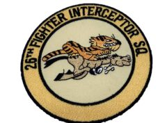26th Fighter-Interceptor Squadron Patch – Plastic Backing