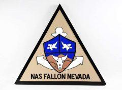 NAS Fallon Nevada Plaque