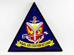 NAS Oceana Plaque
