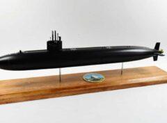 USS Olympia (SSN-717) FLT I Black Hull Submarine Model
