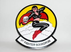 1st Fighter Squadron Fight' Furies Plaque
