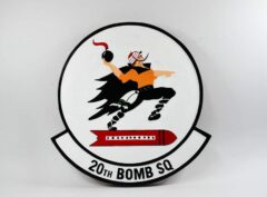 "20th Bomb Squadron ""Buccaneers"" Plaque"