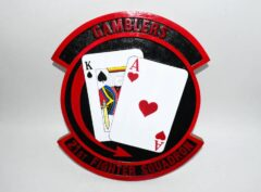 21st Fighter Squadron Gamblers Plaque